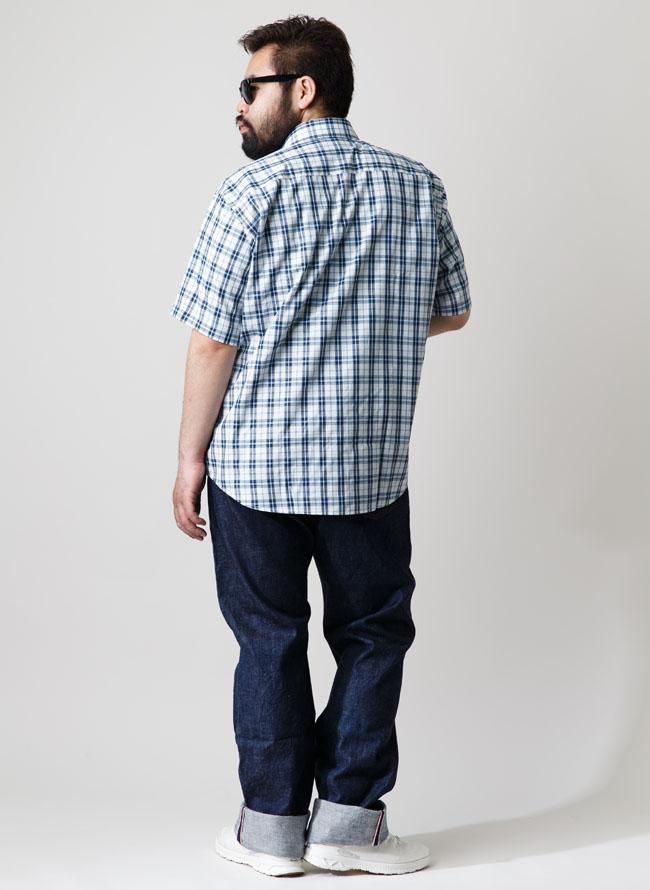 爽やか快適チェック半袖シャツ