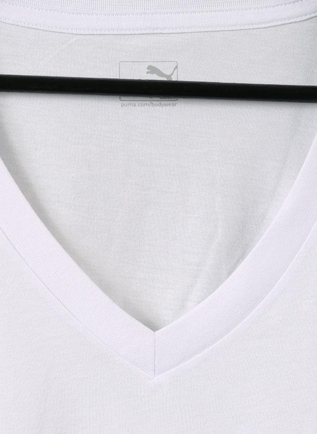 PUMA(プーマ)2枚入り抗菌消臭VネックTシャツ