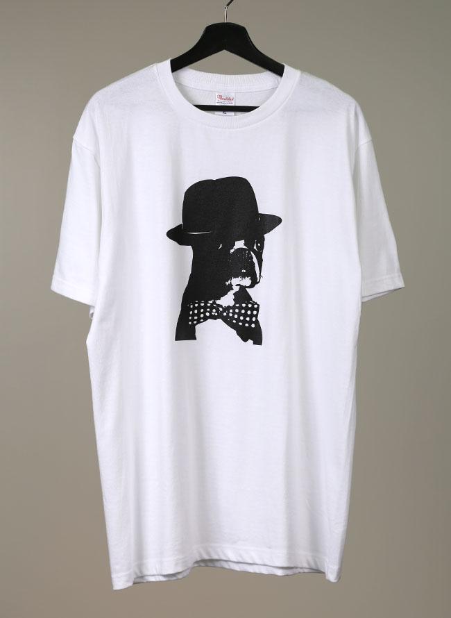 【QZILLAオリジナル】ブルドッグTシャツ