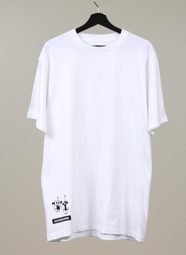 【QZILLAオリジナル】ロボットTシャツ[2L/3L/4L]