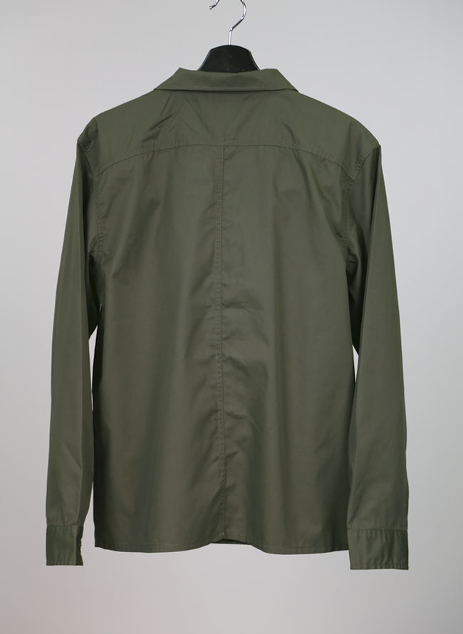 刺繍入りミリタリーシャツジャケット