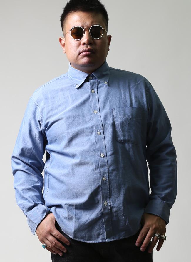 ソフトタッチインド綿長袖シャツ