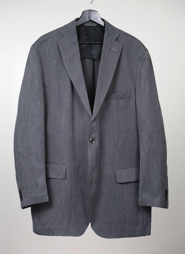 大きいサイズメンズQZILLA軽やかテーラードジャケット