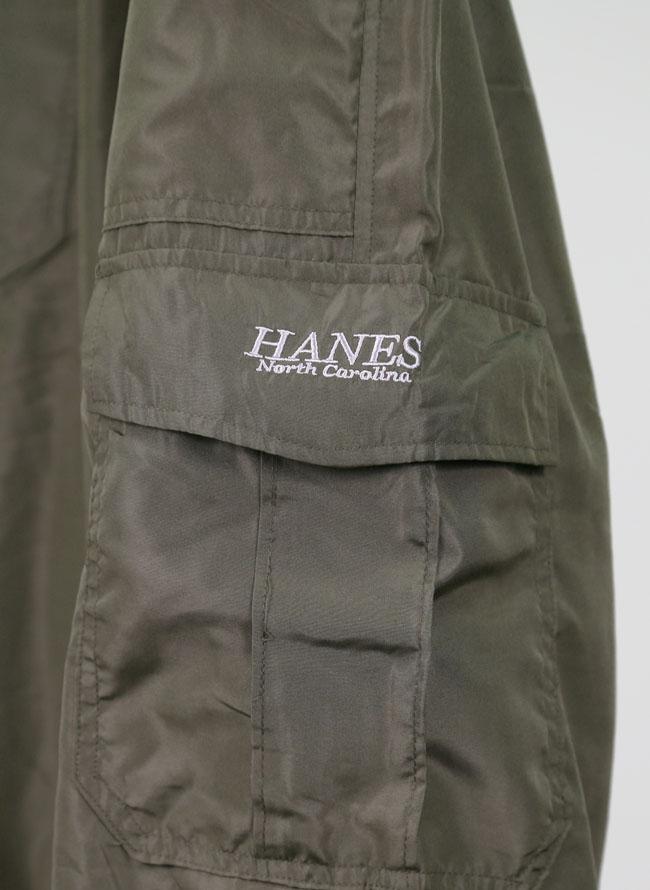 Hanes(ヘインズ)暖か裏フリースカーゴパンツ