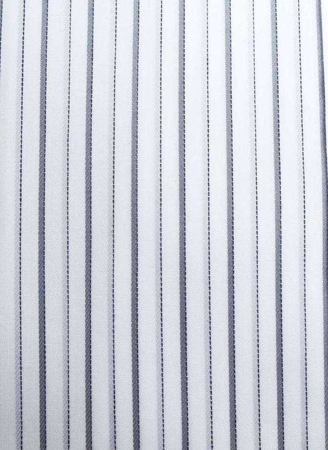 HIROKO KOSHINO HOMME (ヒロココシノオム) 2枚襟風ストライプ長袖シャツ