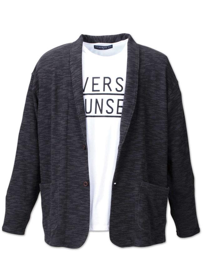 ショールカーデジャケット半袖Tシャツ