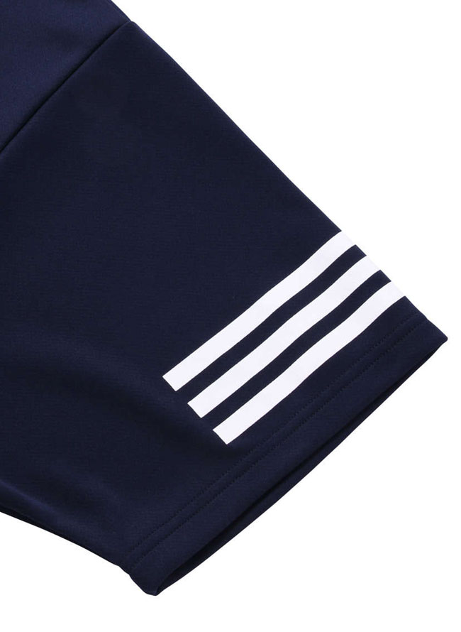 adidas(アディダス)メッシュ生地半袖ポロシャツ