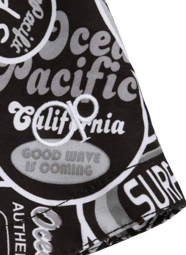 OCEAN PACIFIC(オーシャンパシフィック)アメコミ柄サーフパンツ水着