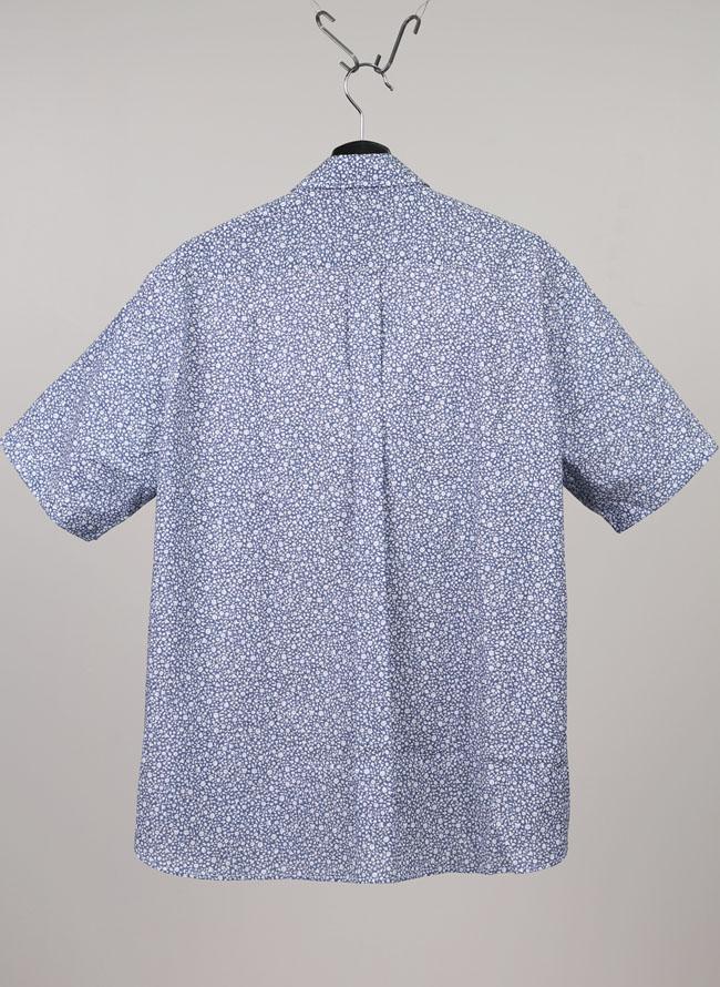 POLO.B.C.S(ポロ・ビーシーエス)花柄ボタンダウン吸収速乾半袖シャツ