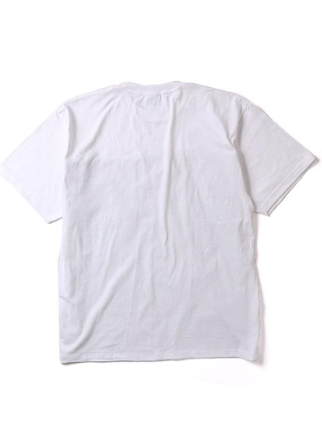 【大きいサイズメンズ】【QZILLAオリジナル】フロントくじらロゴTシャツ