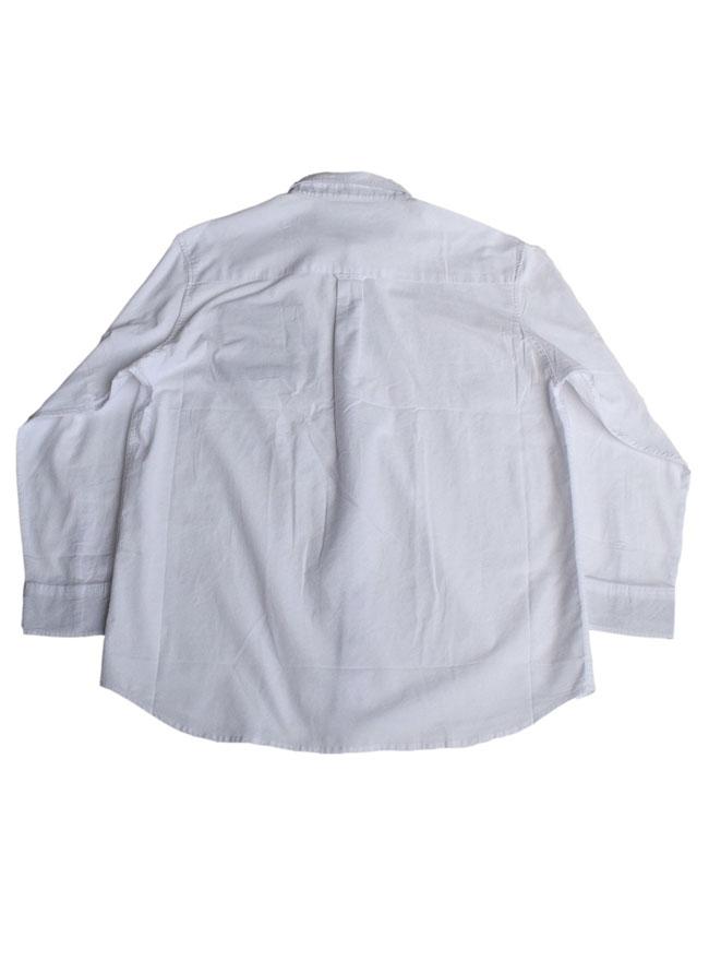 ニットポケット付き長袖ボタンダウンシャツ詳細01