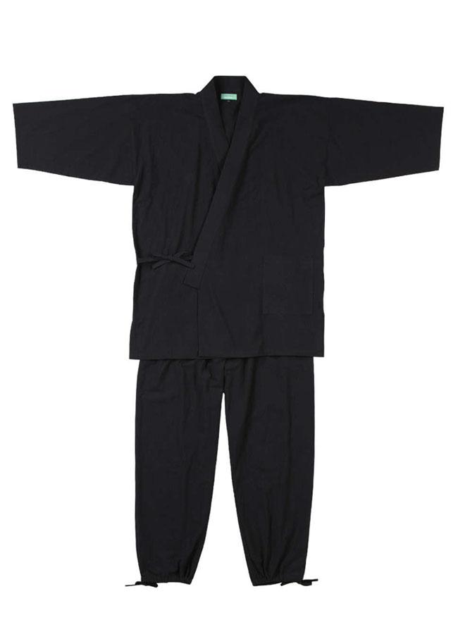 オールシーズン用綿100%作務衣カラー1