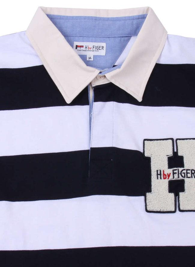 H by FIGER(エイチバイフィガー)長袖ボーダーラガーシャツ詳細03