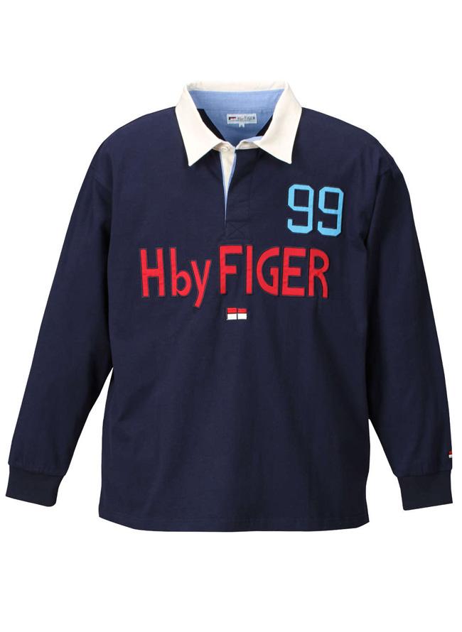 H by FIGER(エイチバイフィガー)長袖ラガーシャツカラー1