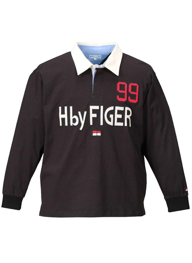 H by FIGER(エイチバイフィガー)長袖ラガーシャツカラー2