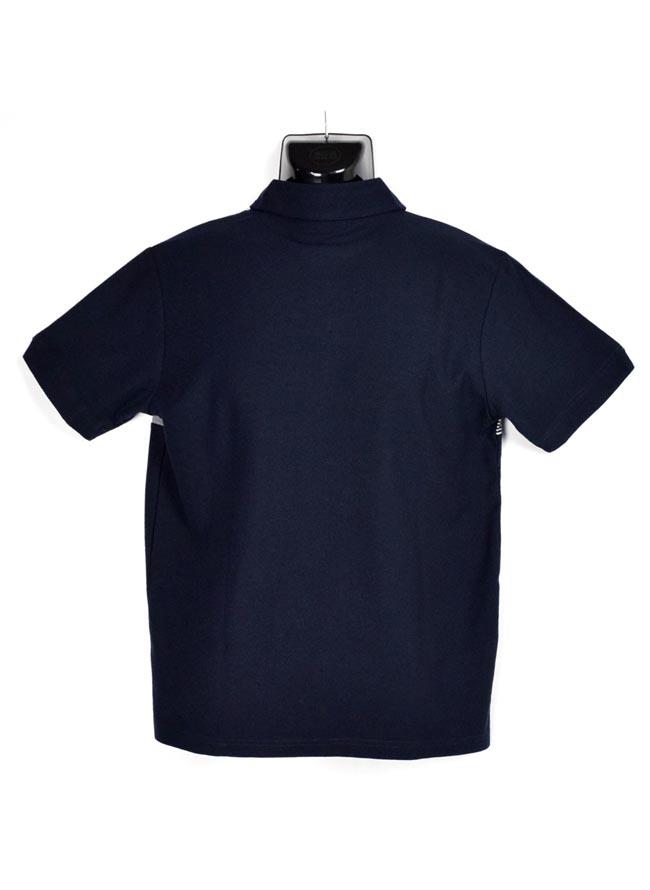 大きいサイズポロシャツメンズCREATIONCUBE梨地異素材ブレスト切替3L4L5Lカジュアル白紺緑春夏