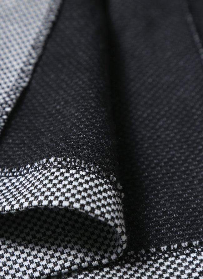 ワッフルイタリアン襟ストレッチセットアップ 上下セット カジュアル スーツ テーラードジャケット ジョガーパンツ詳細07