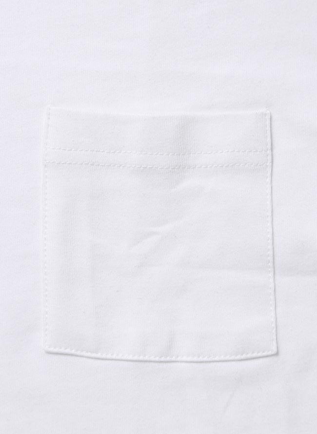 大きいサイズ半袖TシャツカットソーメンズVネック胸ポケットT感激Tシャツ無地3L4L5L6L白黒春夏秋