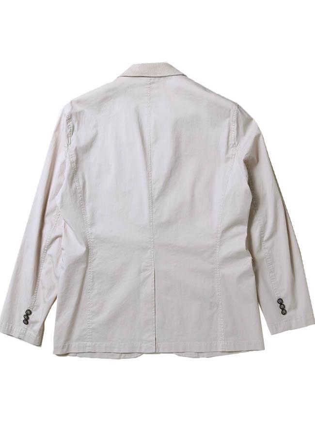 CAPRI(カプリ)異素材切り替えストレッチ2重ポケットジャケット イカリマーク テーラード詳細10