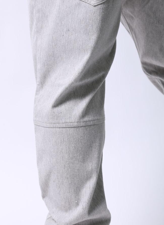 大きいサイズテーパードパンツメンズウエストゴムイージーストレッチ杢調起毛2L(100〜110)3L(110〜120)4L(120〜130)5L(130〜140)灰色紺秋冬
