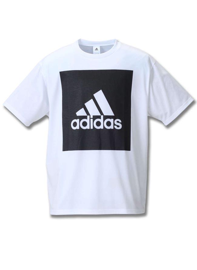 【大きいサイズ メンズ】adidas アディダス吸水速乾半袖半袖Tシャツ 2L(3XO)/3L(4XO)/4L(5XO)/5L(6XO)/6L(7XO)/7L(8XO)//カラー2