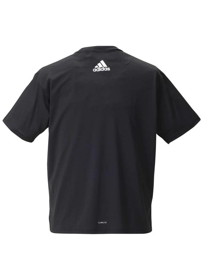 【大きいサイズ メンズ】adidas アディダス吸水速乾半袖半袖Tシャツ 2L(3XO)/3L(4XO)/4L(5XO)/5L(6XO)/6L(7XO)/7L(8XO)//詳細01