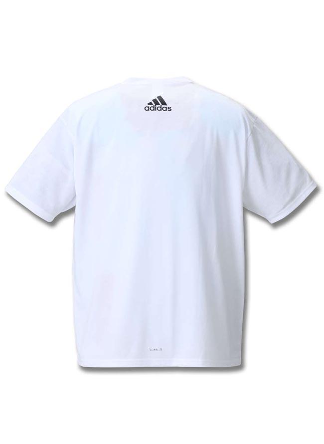 【大きいサイズ メンズ】adidas アディダス吸水速乾半袖半袖Tシャツ 2L(3XO)/3L(4XO)/4L(5XO)/5L(6XO)/6L(7XO)/7L(8XO)//詳細08