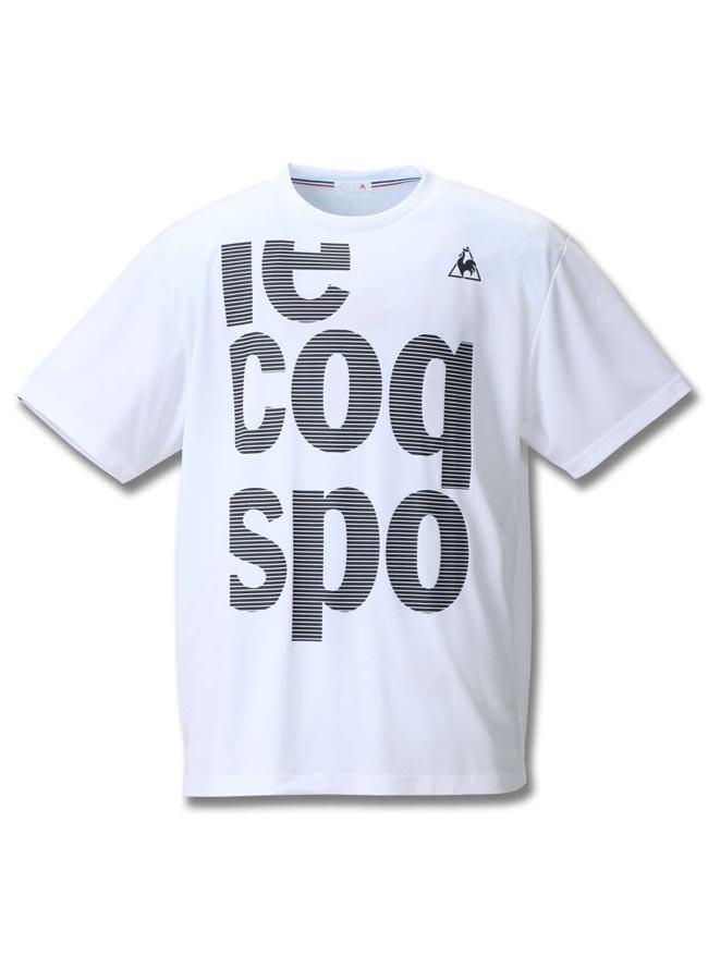 【大きいサイズ メンズ】LE COQ SPORTIF吸汗速乾半袖半袖Tシャツ 3L/4L/5L/6L////カラー3