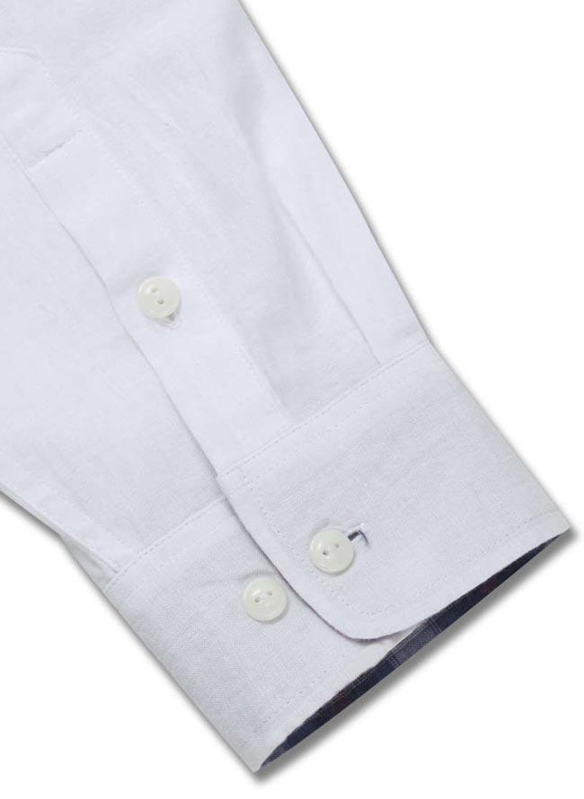 【大きいサイズ メンズ】OUTDOOR PRODUCTS (アウトドア プロダクツ)綿麻ロールアップ長袖シャツ カジュアルシャツ 3L/4L/5L/6L/8L/詳細04