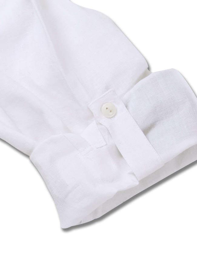 【大きいサイズ メンズ】OUTDOOR PRODUCTS (アウトドア プロダクツ)綿麻ロールアップ長袖シャツ カジュアルシャツ 3L/4L/5L/6L/8L/詳細05