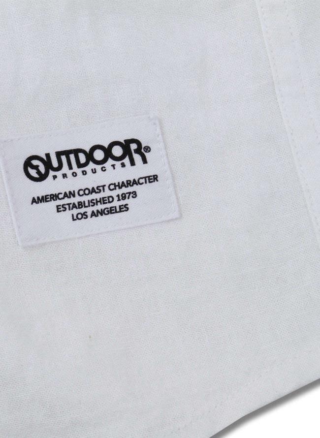 【大きいサイズ メンズ】OUTDOOR PRODUCTS (アウトドア プロダクツ)綿麻ロールアップ長袖シャツ カジュアルシャツ 3L/4L/5L/6L/8L/詳細07