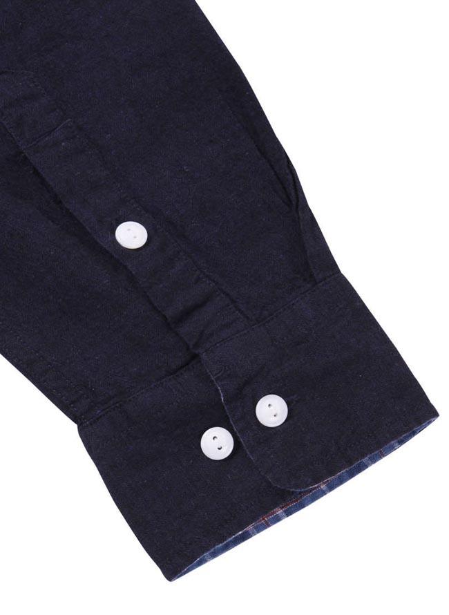 【大きいサイズ メンズ】OUTDOOR PRODUCTS (アウトドア プロダクツ)綿麻ロールアップ長袖シャツ カジュアルシャツ 3L/4L/5L/6L/8L/詳細13