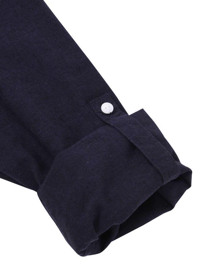 【大きいサイズ メンズ】OUTDOOR PRODUCTS (アウトドア プロダクツ)綿麻ロールアップ長袖シャツ カジュアルシャツ 3L/4L/5L/6L/8L/詳細14