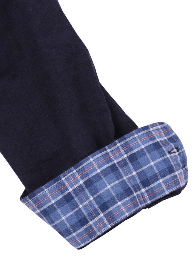 【大きいサイズ メンズ】OUTDOOR PRODUCTS (アウトドア プロダクツ)綿麻ロールアップ長袖シャツ カジュアルシャツ 3L/4L/5L/6L/8L/詳細15