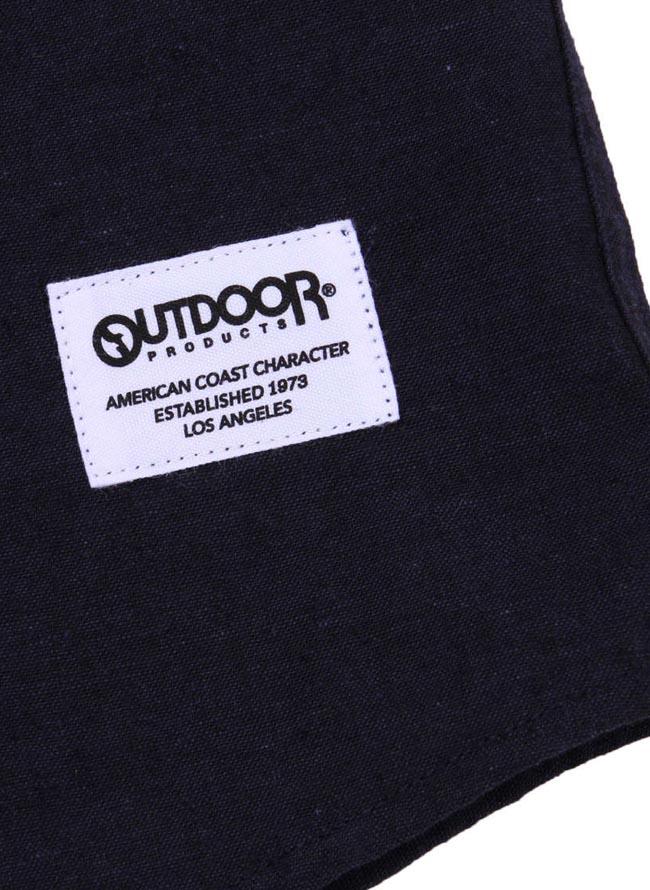【大きいサイズ メンズ】OUTDOOR PRODUCTS (アウトドア プロダクツ)綿麻ロールアップ長袖シャツ カジュアルシャツ 3L/4L/5L/6L/8L/詳細16