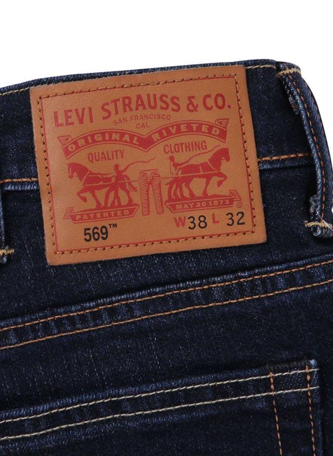 大きいサイズジーンズデニムメンズルーズストレートLevi's(リーバイス)ジップフライW38W40W42W44カジュアル紺春夏秋冬