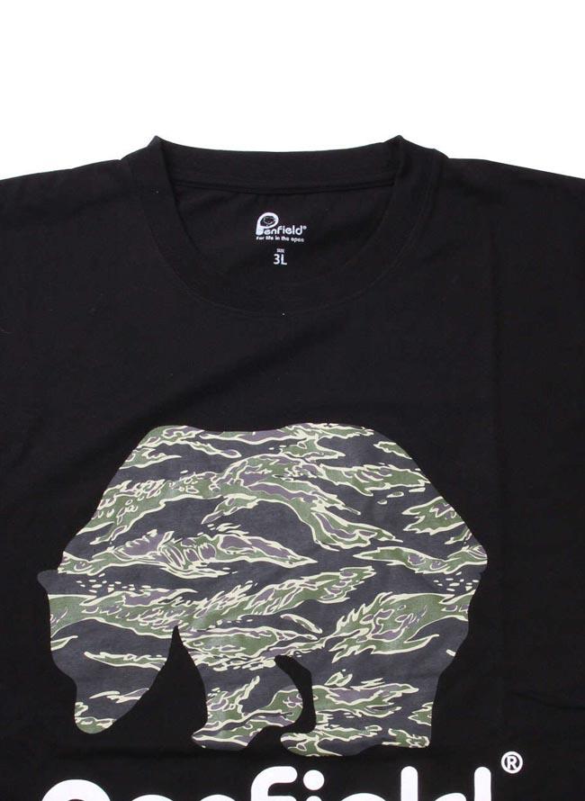 大きいサイズ半袖TシャツカットソーメンズクルーネックPenfield(ペンフィールド)3L4L5L6Lカジュアル白黒春夏