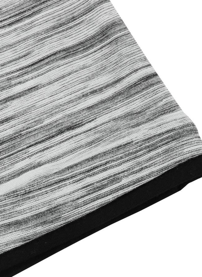 大きいサイズ半袖TシャツカットソーメンズMc.S.P(エムシーエスピー)重ね着風3L4L5L6L8L10Lカジュアル黒紺灰春夏