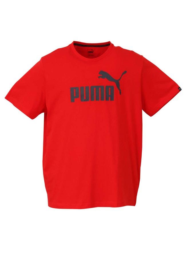 大きいサイズ半袖TシャツカットソーメンズエッセンシャルNO.1ロゴPUMA(プーマ)3L4L5L6Lカジュアル黒紺赤白灰春夏