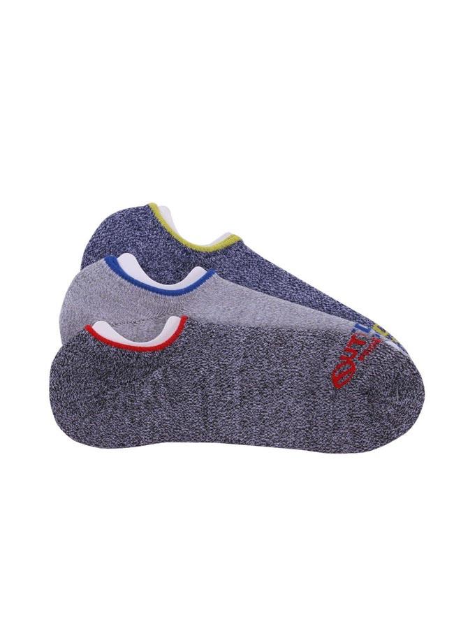 大きいサイズアウトドアウェア小物 靴下メンズOUTDOORPRODUCTS(アウトドアプロダクツ)爪先ロゴFカジュアル灰春夏秋冬