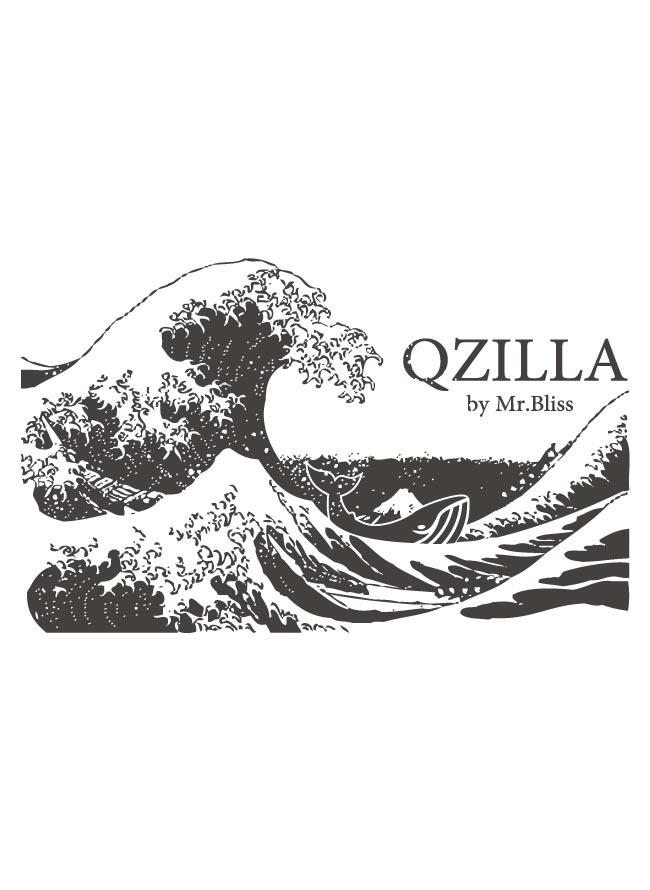 大きいサイズ半袖TシャツカットソーメンズUネックロゴTQT(キューティ)葛飾北斎泳ぐ鯨図綿100%SMLXL(2L)2XL(3L)3XL(4L)4XL(5L)5XL(6L)6.2oz白赤緑春夏