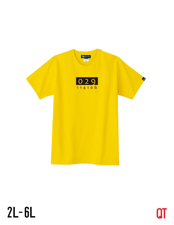【大きいサイズメンズ】QT(キューティ)オニクアイシテルUネック半袖TシャツカットソーXL(2L)/2XL(3L)/3XL(4L)/4XL(5L)/5XL(6L)