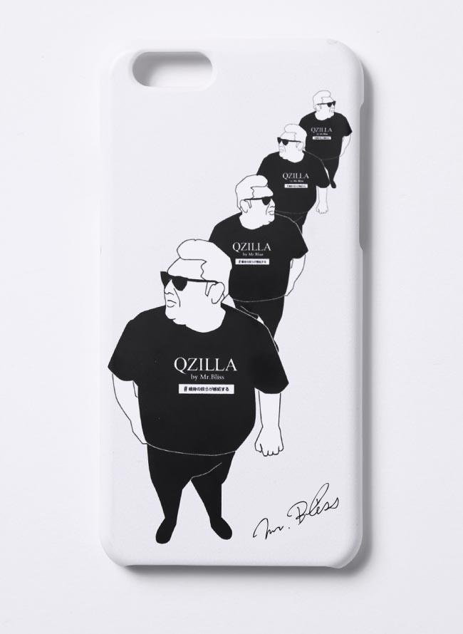 【3日間限定】デブ散歩記念スマホケース ハードタイプ ブラック ホワイト[iphone/Galaxy]