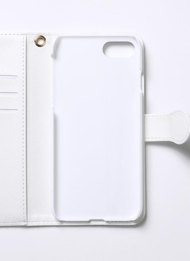 【3日間限定】デブ散歩記念スマホケース ハードタイプ ブラック ホワイト[iphone]