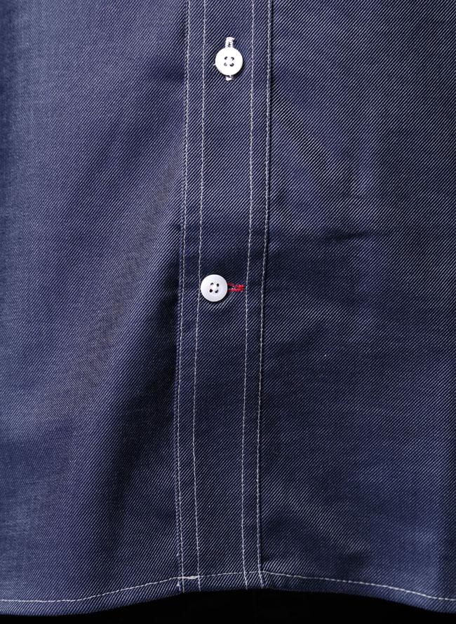 大きいサイズ長袖シャツカジュアルシャツメンズボタンダウンPOLO.B.C.S(ポロ・ビーシーエス)汗染み防止2L3L4L5Lカジュアル紺水色春秋冬
