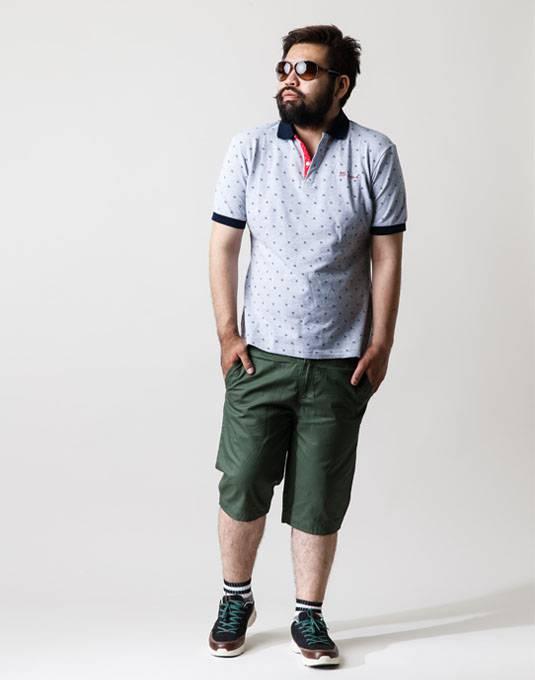 ポロシャツ+ハーフパンツは鉄板コーデ。男の夏物語。 01