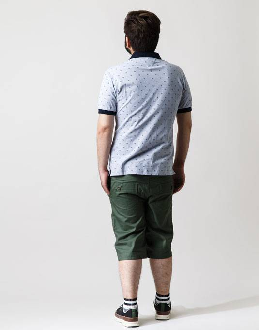 ポロシャツ+ハーフパンツは鉄板コーデ。男の夏物語。 04