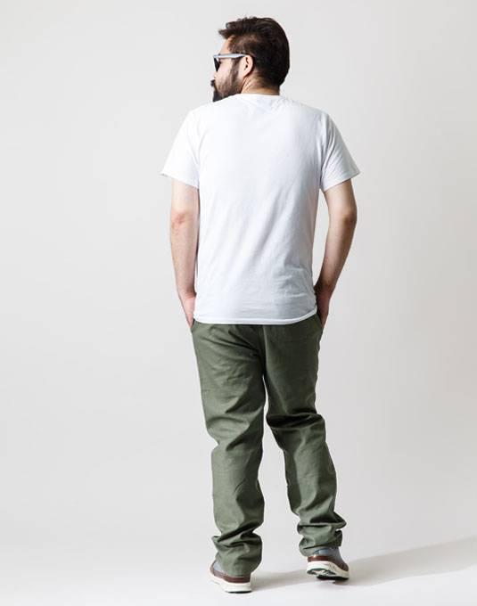 完璧な色の組み合わせ。ホワイト×カーキ 04