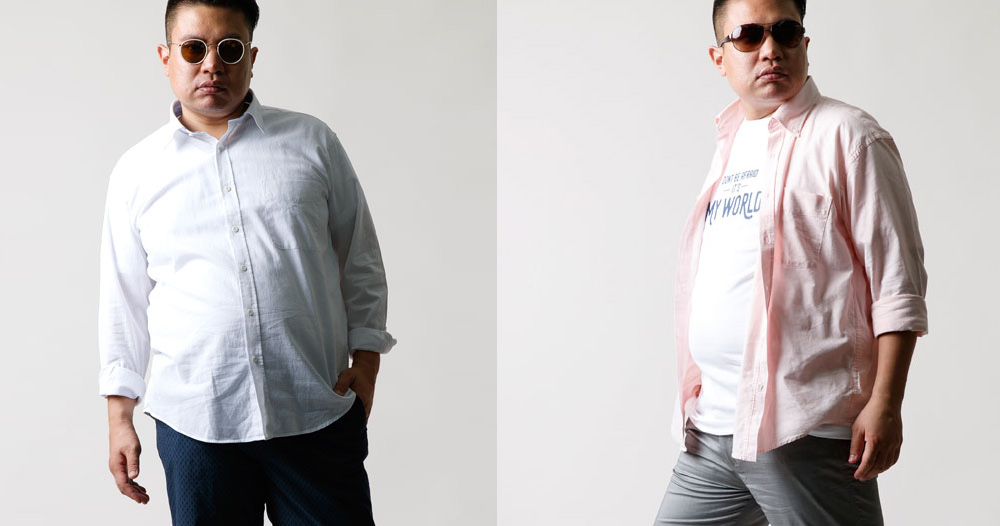 通年使える長袖シャツ