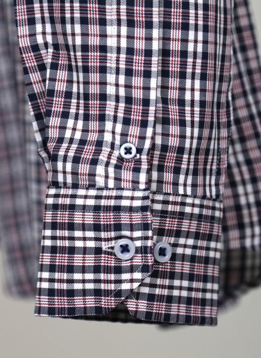 シャツ袖口